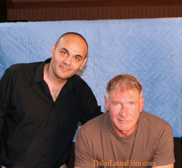 Harrison                                                           Ford and                                                           Khashyar                                                           Darvich